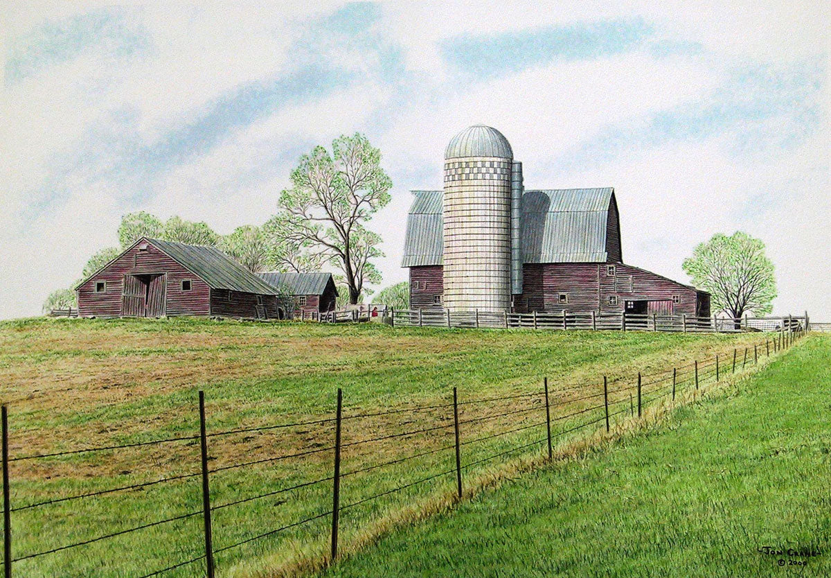 DAKOTA SPRING by Jon Crane -- Fine Art Watercolor