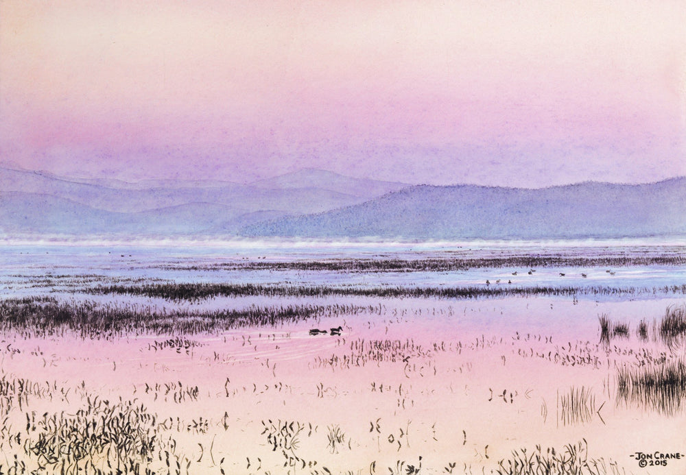 DAWN by Jon Crane -- Fine Art Watercolor