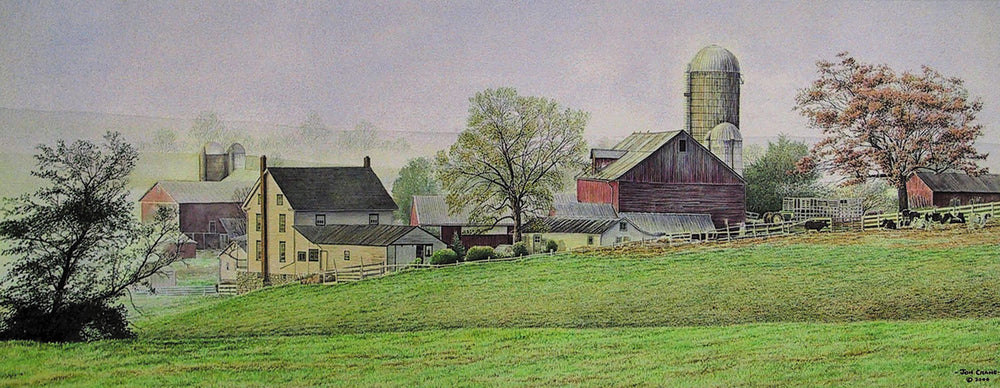 EARLY ONE MORNING by Jon Crane -- Fine Art Watercolor