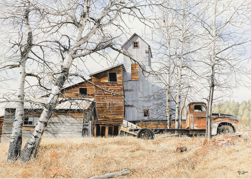 FILMORE MINE by Jon Crane -- Fine Art Watercolor