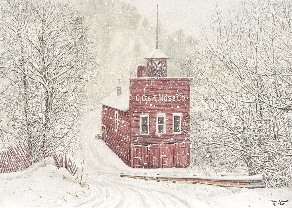 C. G. & T. HOSE CO. by Jon Crane -- Fine Art Watercolors
