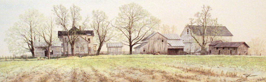 HEARTLAND SPRING by Jon Crane -- Fine Art Watercolors