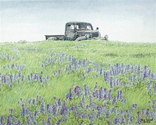 HIGH PASTURE by Jon Crane -- Fine Art Watercolors