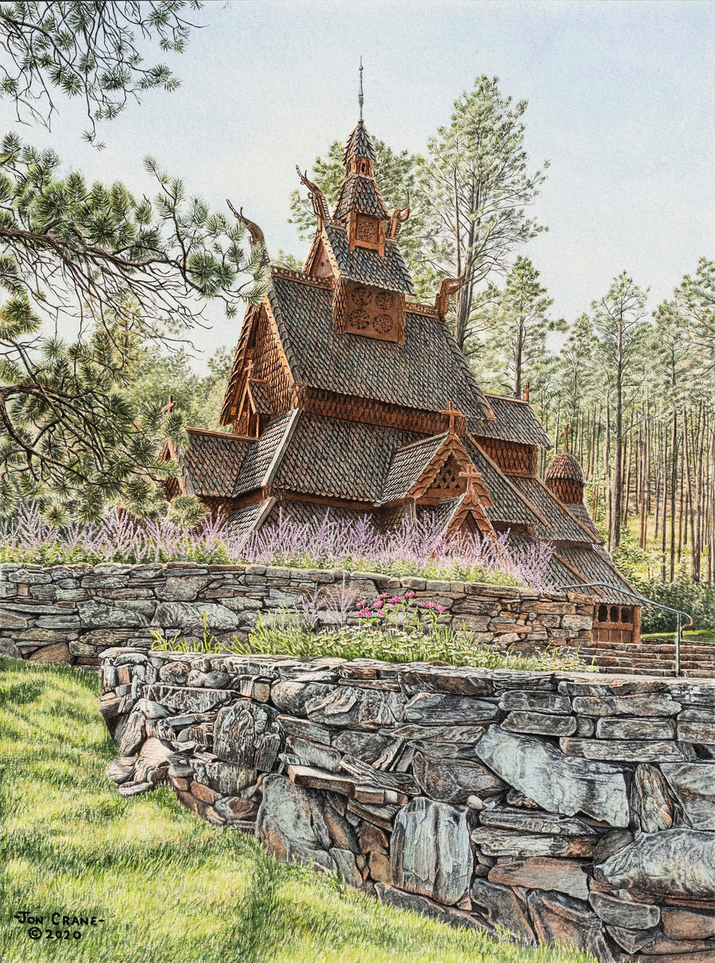 NORDIC DREAMS by Jon Crane -- Fine Art Watercolors