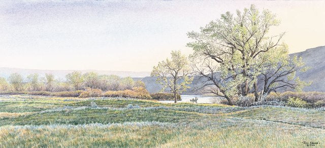 RIVER, TAKE ME ALONG by Jon Crane -- Fine Art Watercolors