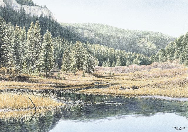 SERENITY by Jon Crane -- Fine Art Watercolors