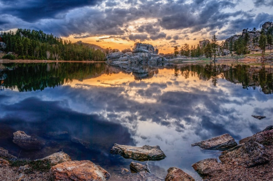 SYLVAN REFLECTIONS by Joel Bielstein Monumental Photography