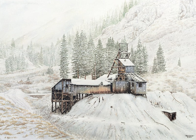 SPIRIT OF THE HIGH COUNTRY by Jon Crane -- Fine Art Watercolors