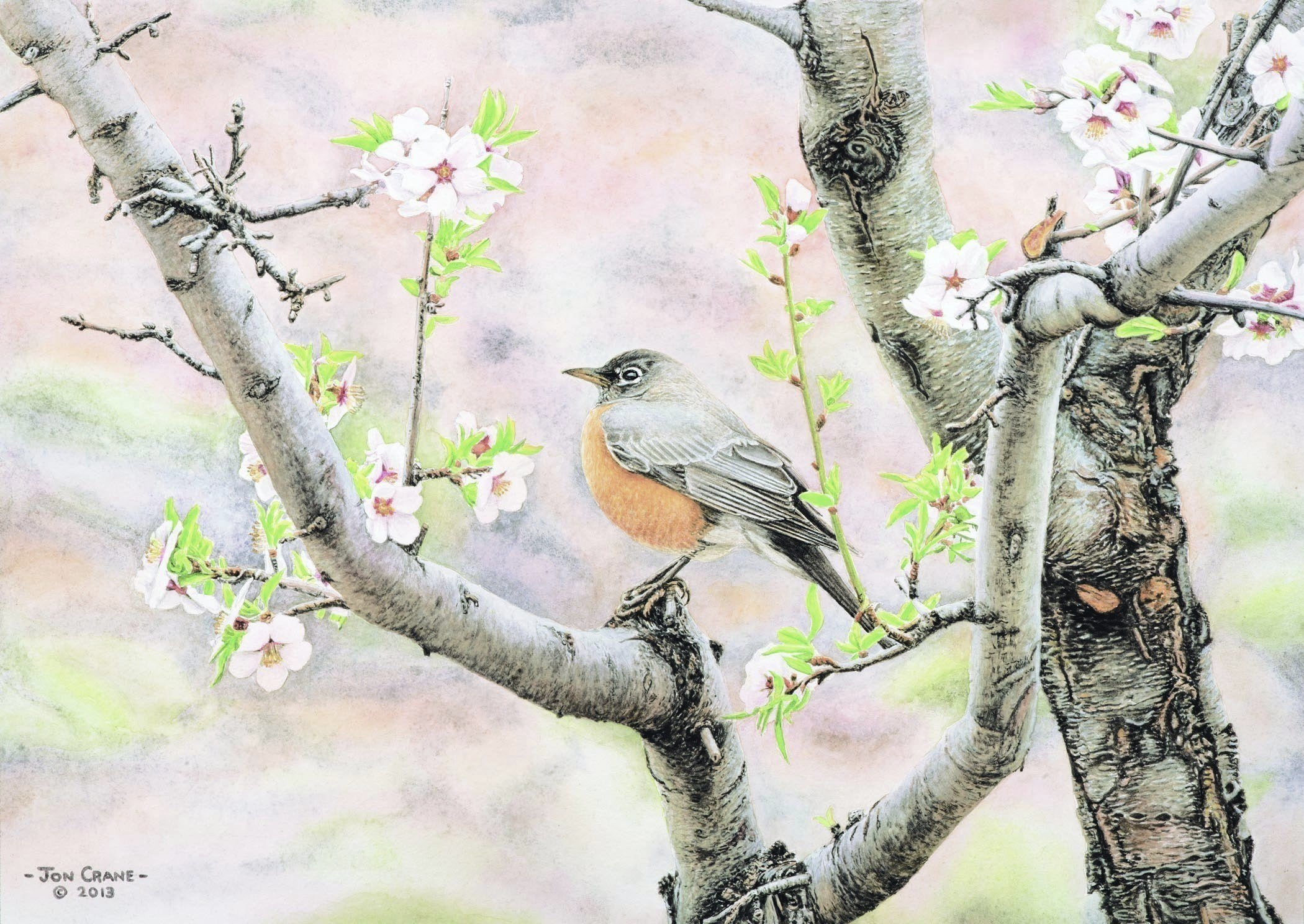 SPRING by Jon Crane -- Fine Art Watercolors