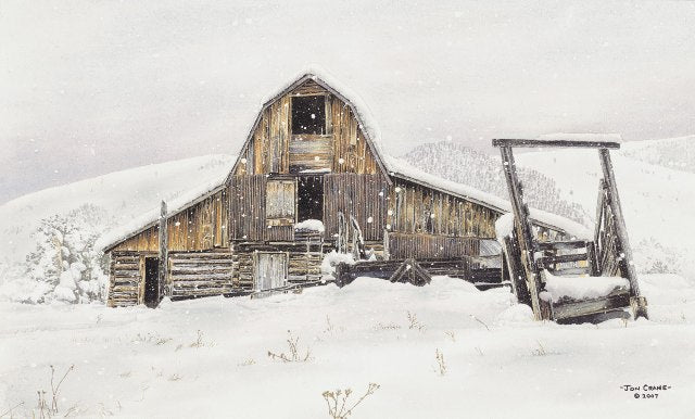 TEST OF TIME by Jon Crane -- Fine Art Watercolors