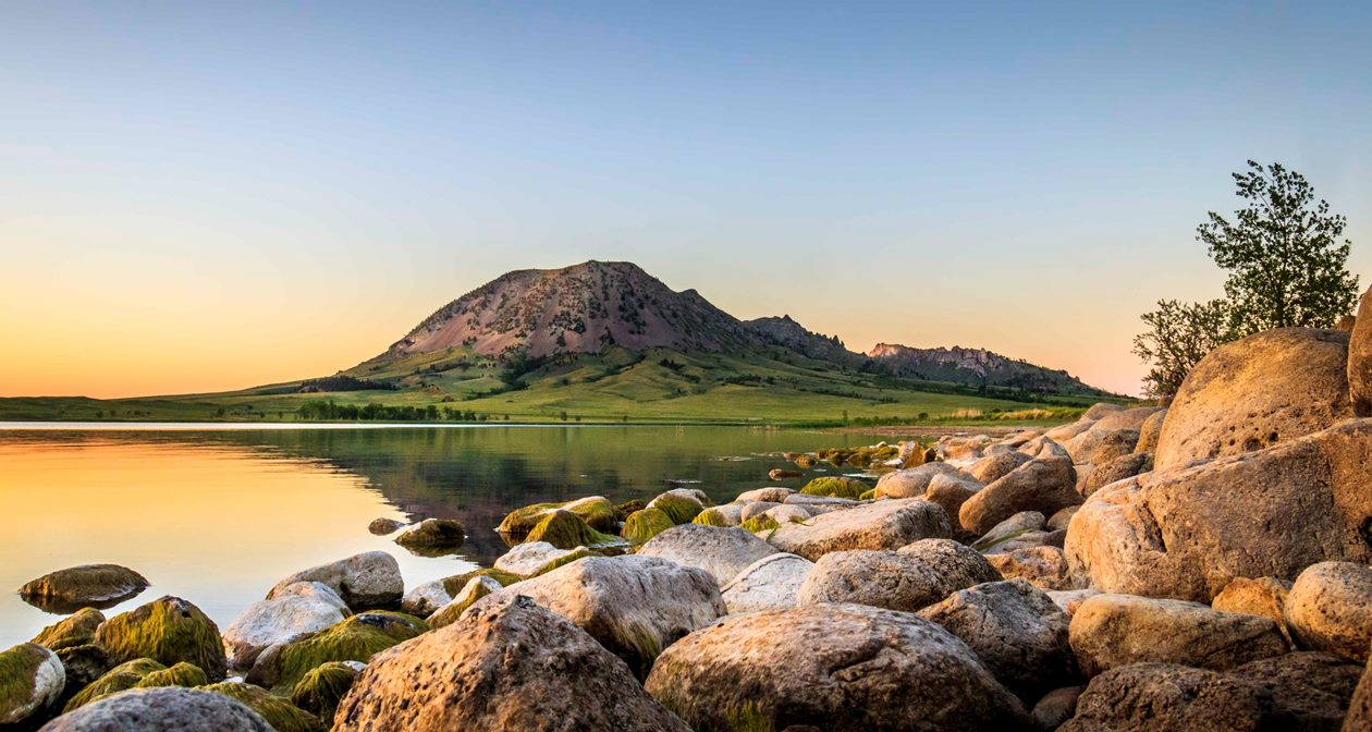 BEAR BUTTE by Joel Bielstein Monumental Photography