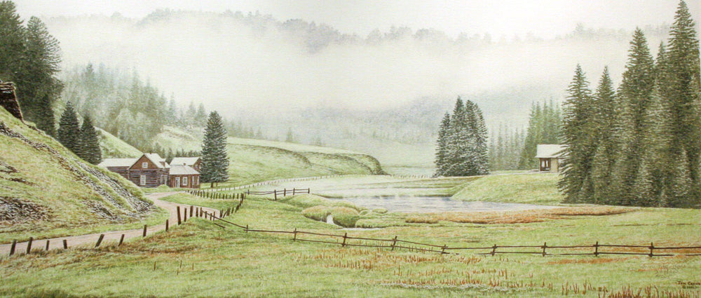 UNTO THE HILLS by Jon Crane -- Fine Art Watercolors