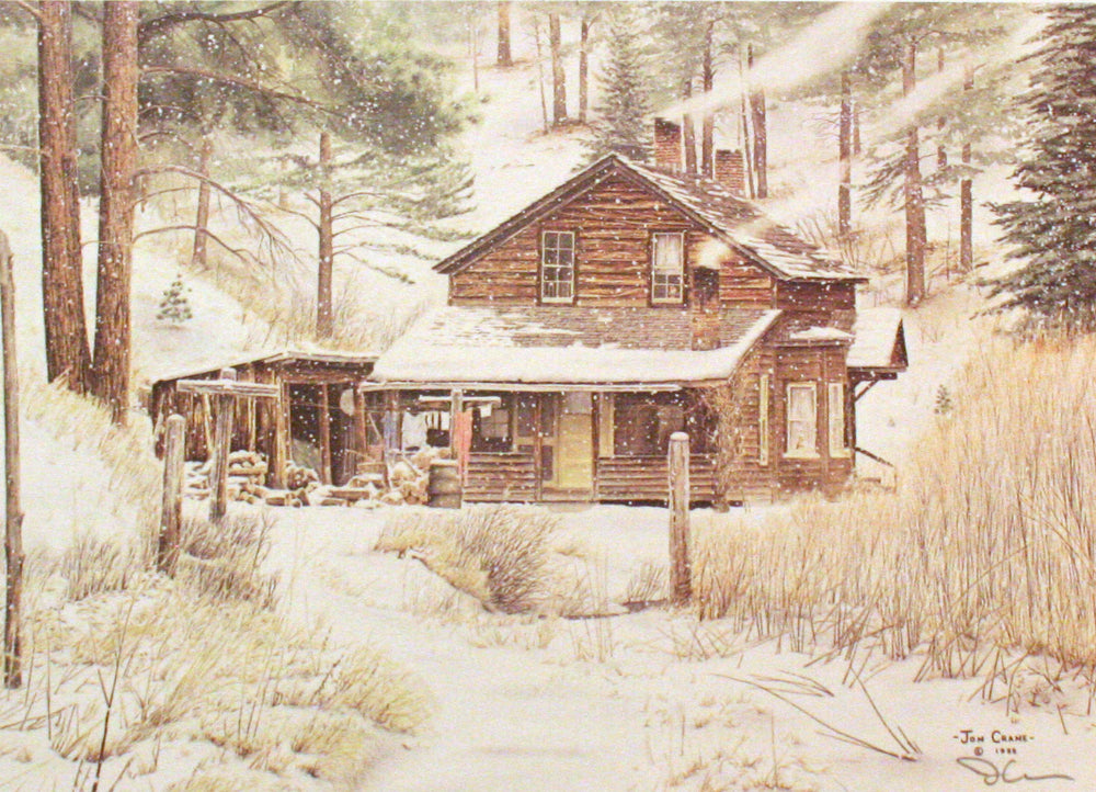 WARM RETREAT by Jon Crane -- Fine Art Watercolors