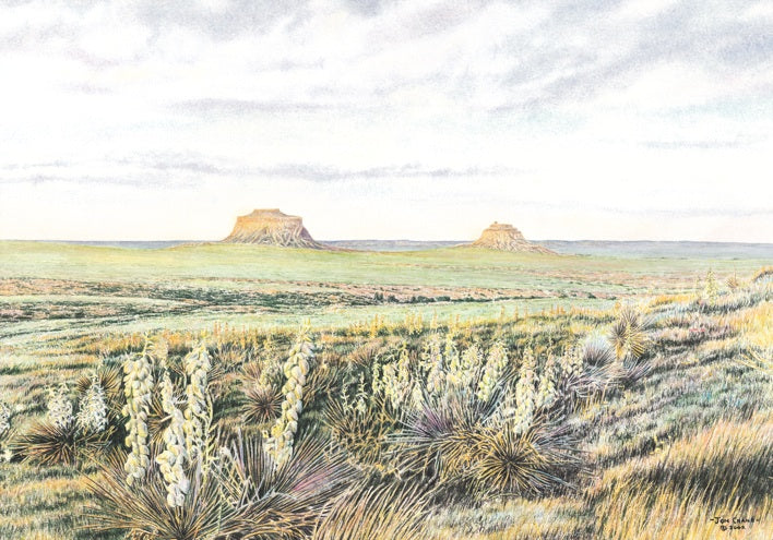 WIDE OPEN SPACES by Jon Crane -- Fine Art Watercolors