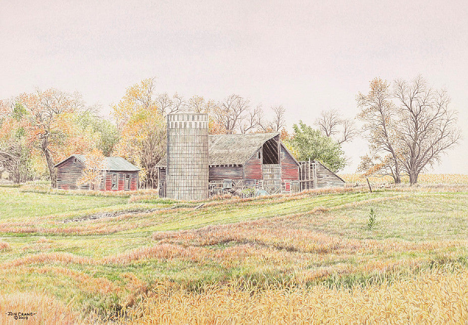 APPROACHING AUTUMN by Jon Crane -- Fine Art Watercolors