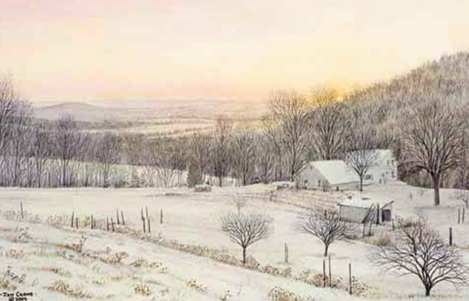 DAY IS DONE by Jon Crane -- Fine Art Watercolor