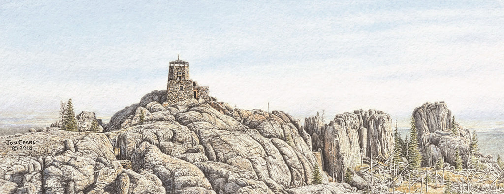 TOP OF THE WORLD by Jon Crane -- Fine Art Watercolors