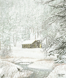 MYSTIC CHAPEL by Jon Crane -- Fine Art Watercolors