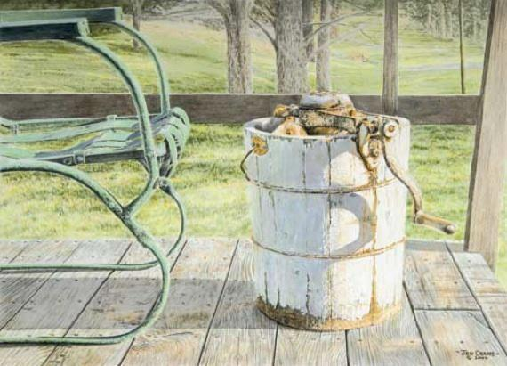 SWEET ANTICIPATION by Jon Crane -- Fine Art Watercolors