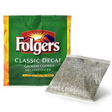 Folgers 4 Cup Hotel Decaf Classic Roast Coffee Filter Packs - 200 ct.
