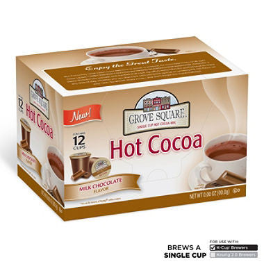 Grove Square Milk Chocolate Hot Cocoa (72 K-Cups)