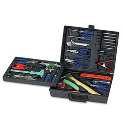 Great Neck 110-Piece Tool Kit and Drop Forged Steel Tools - Black Plastic Case