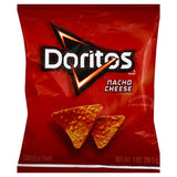 Doritos Nacho Cheese Tortilla Chips (1 oz. bags, 50 ct.)