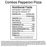 Pepperoni Pizza Combo's Peg Bag - 1.8 oz. Bag - 16 ct.