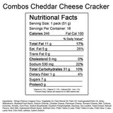 Cracker with Cheese Combos Peg Bag - 1.8 oz. Bag - 18 ct.