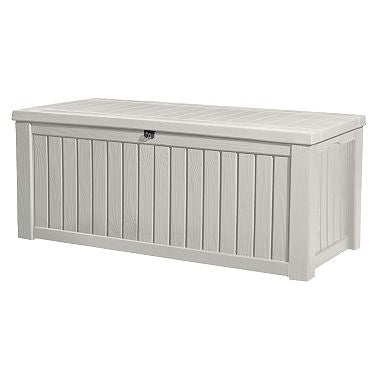 Keter Rockwood 150-Gallon Outdoor Plastic Storage Box