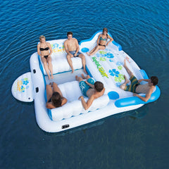 Tropical Tahiti Floating Island (6 Person) Ships FedEx 2 Day Am Delivery