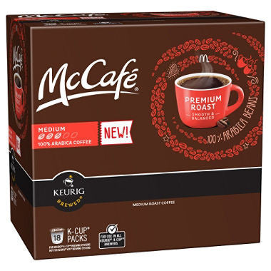 McCafe Premium Roast, Medium Roast K-Cups (108 ct.)