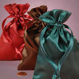 Assorted Satin Gift Bags 10 Count