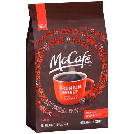 McCafé® Premium Roast Ground Coffee (12 or 20 oz. Bag)