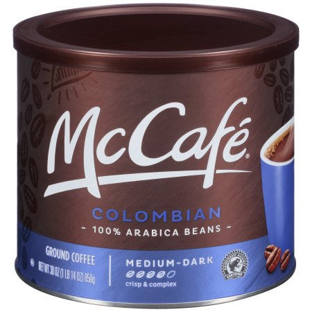 McCafé® Colombian Ground Coffee 30 oz. Canister