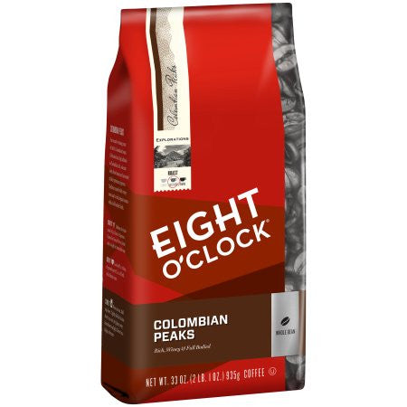 Eight O'Clock® Colombian Peaks Whole Bean Coffee 33 oz. Bag