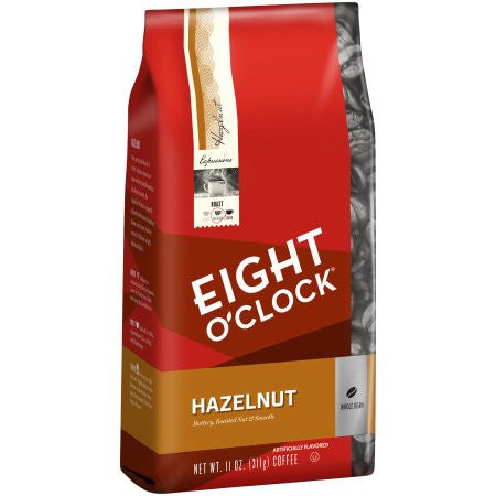 Eight O'Clock® Hazelnut Whole Bean or Ground Coffee 11 oz. Bag