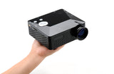 Mini Projector - 60 Lumens, 300:1 Aspect Ratio, 1.67 Million Displayable Colors