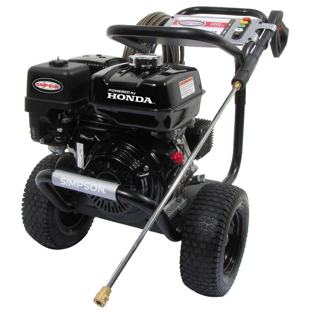 SIMPSON PowerShot 4000 PSI 3.3 GPM - Gas Pressure Washer Powered By HONDA