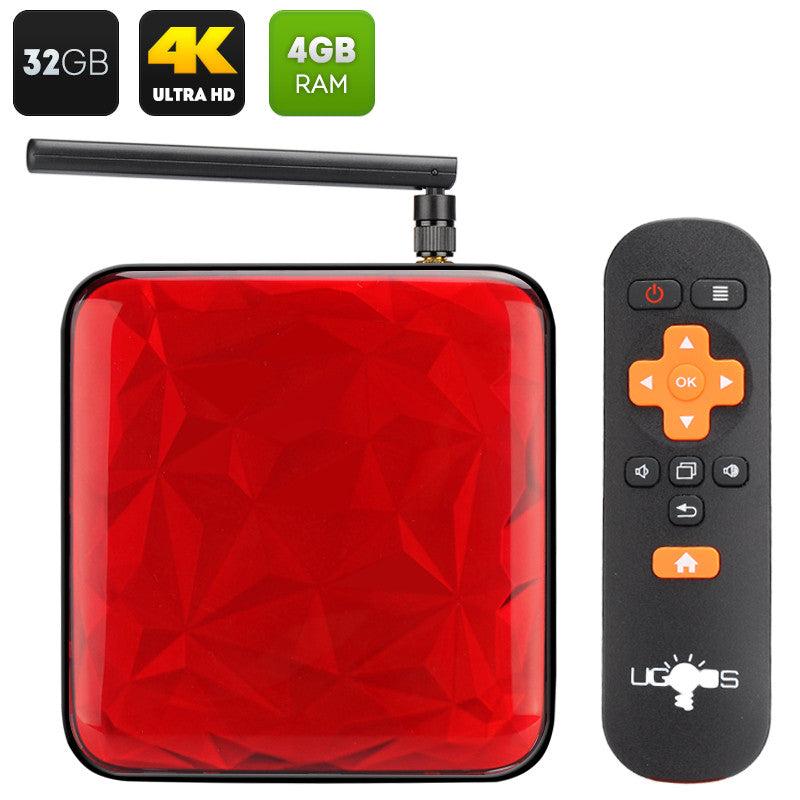 UGOOS UT3S Mini PC - Quad Core RK3288 CPU Smart Tv Box