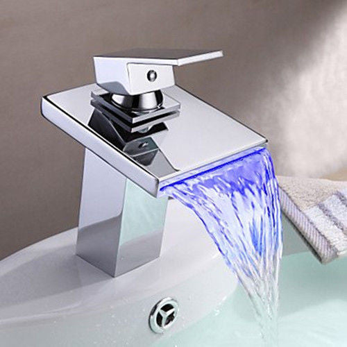 LED Waterfall Faucet A025