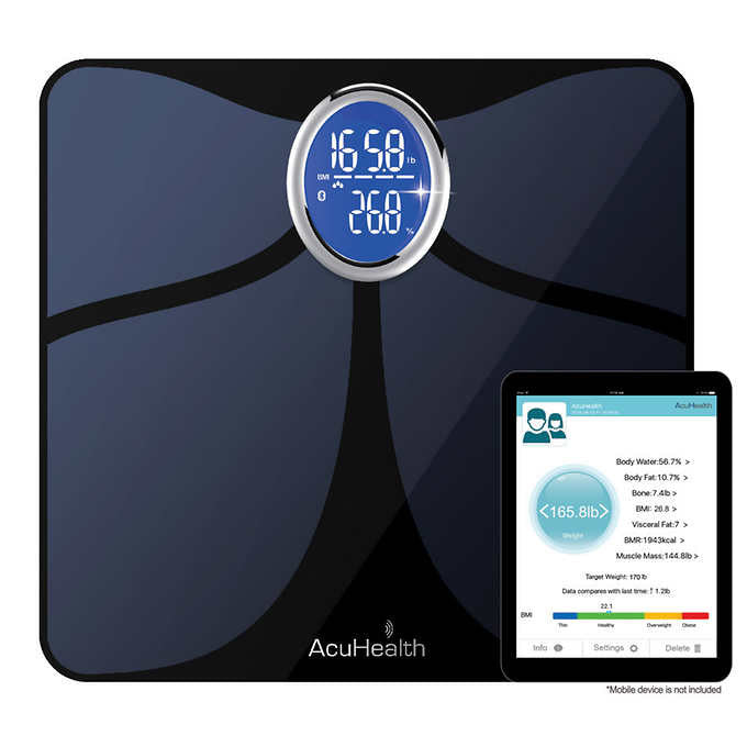 AcuHealth Body Fat and Fitness Analyzer Choose Color