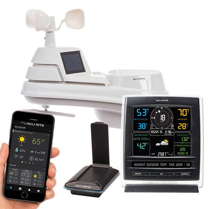 AcuRite Pro 5-in-1 Weather Station with my AcuRite Remote Monitoring