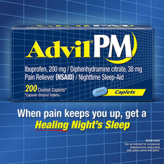 Advil PM, 200 Caplets