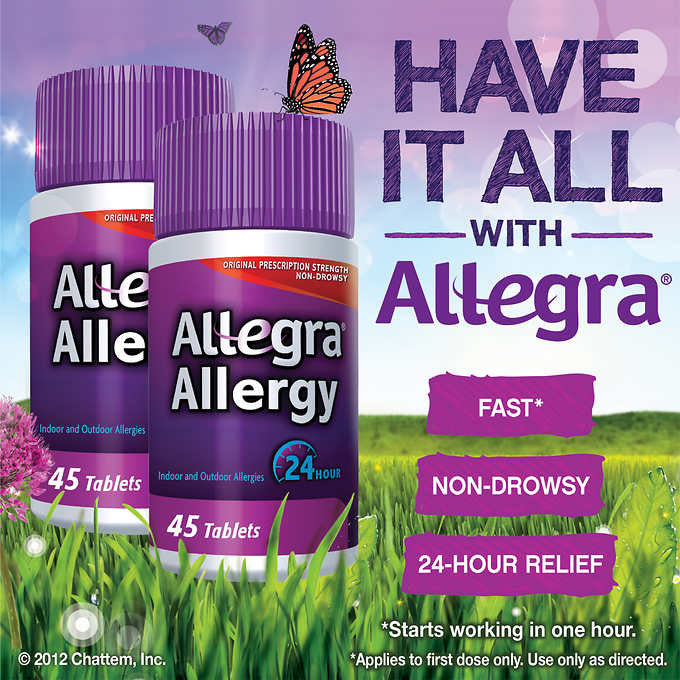 Allegra Allergy, 90 Tablets