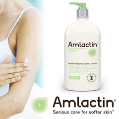 Amlactin Moisturizing Body Lotion, 20 Ounces