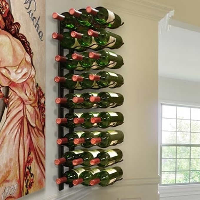Apex 27-bottle Metal Wine Rack