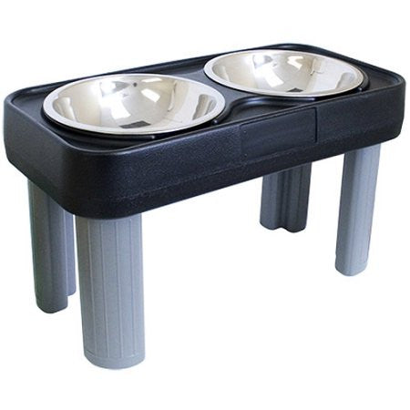 "Big Dog Feeder 16"" Black"