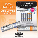 ChapStick Total Hydration Natural Lip Care, 5 Tubes