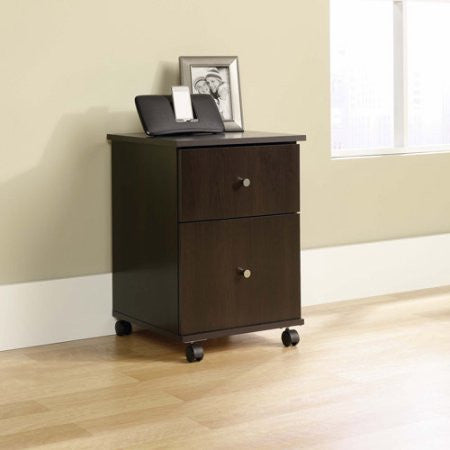 Sauder File Cart, Select Cherry